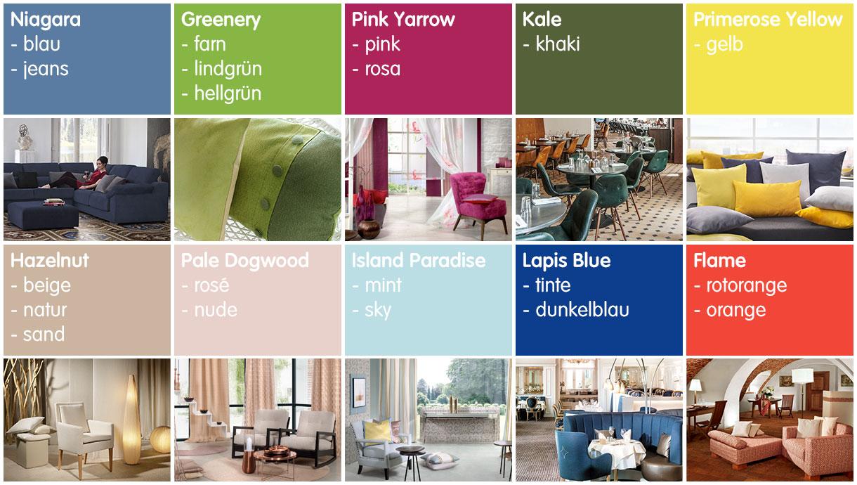 Farben in der raumgestaltung sonnhaus for Raumgestaltung trends 2017